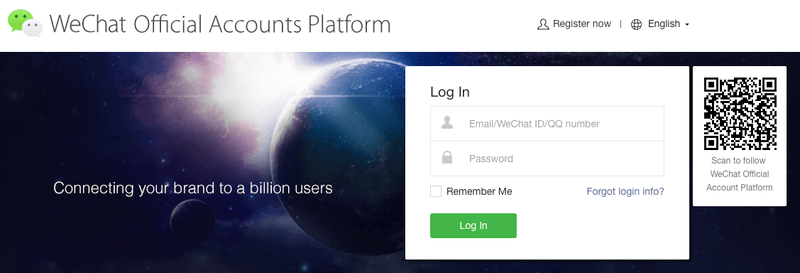 The WeChat Official Account Platform