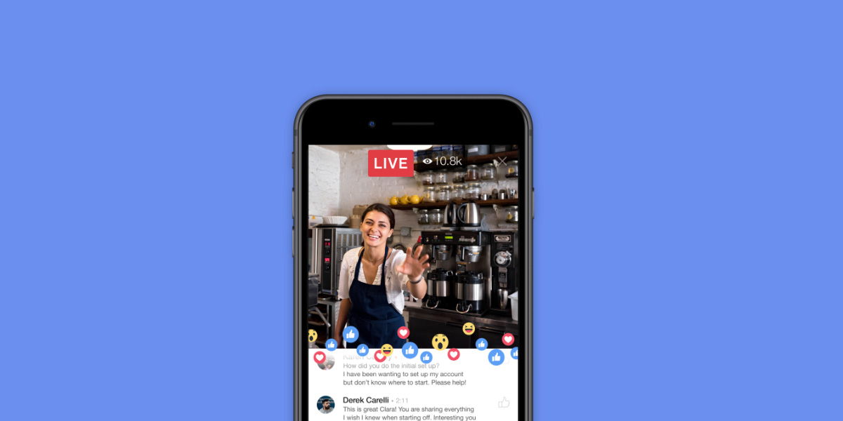 5 Great Ways to Use Facebook Live to Market Your Small Business-iStarto