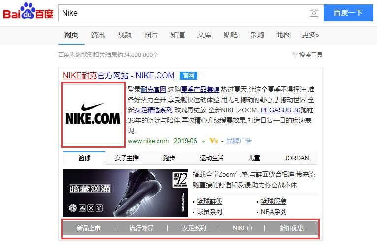 Baidu PPC Ads formats
