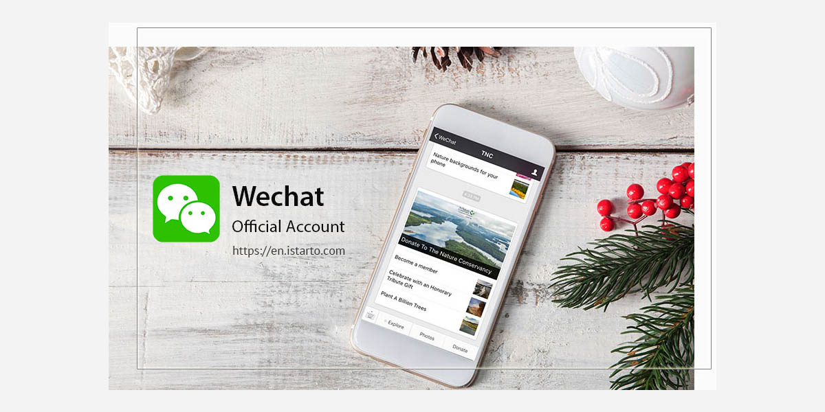 Register a WeChat Official Account as a Non-China entity-istarto china