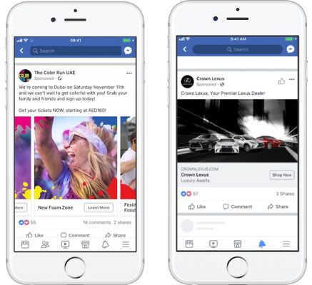 iStarto-facebook Event Response Ad