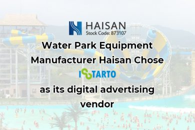 Water Park Equipment Manufacturer Haisan Chose iStarto as its digital advertising vendor for its 2020 Google Ad campaigns-istarto